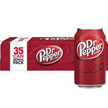 Dr Pepper (12 oz. cans, 35 pk.)