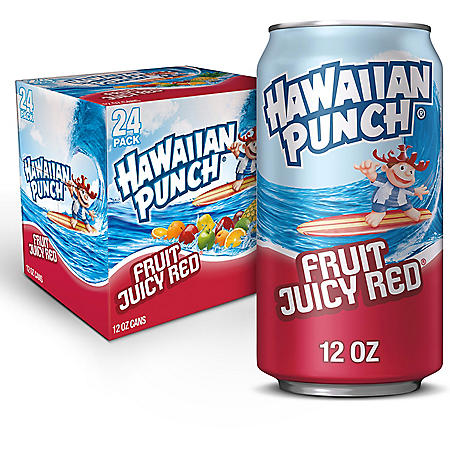 Hawaiian Punch Fruit Juicy Red (12oz / 24pk)