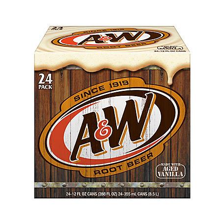 A&W 24PK 12OZ CAN