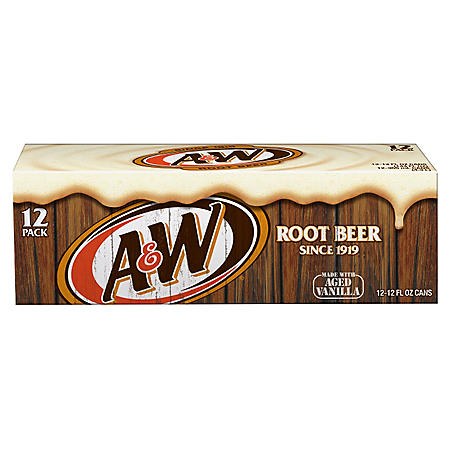 A&W Root Beer (12oz / 12pk)