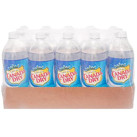 Canada Dry Club Soda (1L bottle)