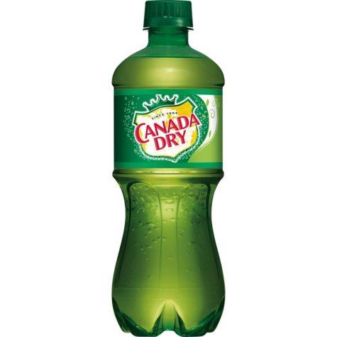Canada Dry Ginger Ale (20 oz. bottles, 24 pk.)