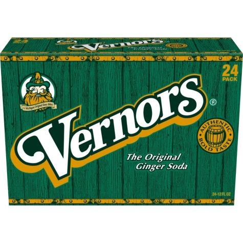 Vernors Ginger Soda (12 oz., 24 pk.)