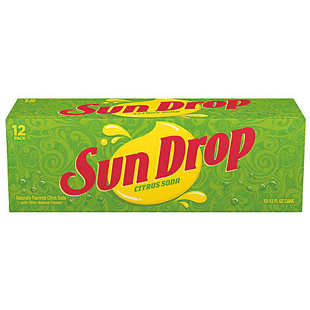 Sun Drop Citrus Soda (12oz / 12pk)