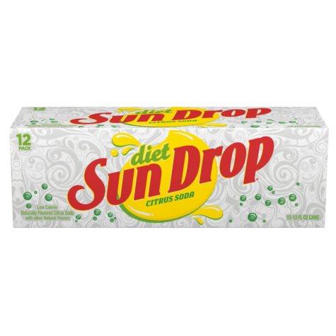 Diet Sun Drop (12 oz. cans, 24 pk.)