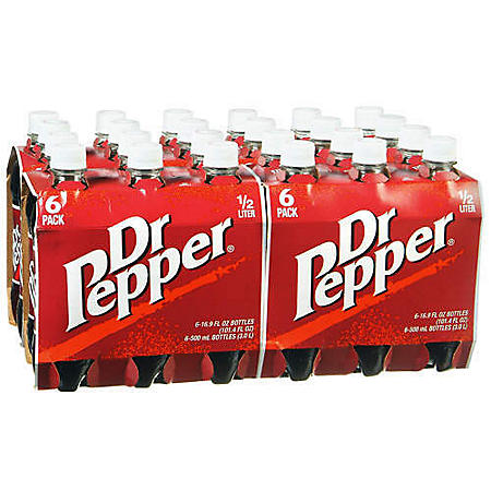 Dr. Pepper (16.9 oz. bottles, 24 pk.)