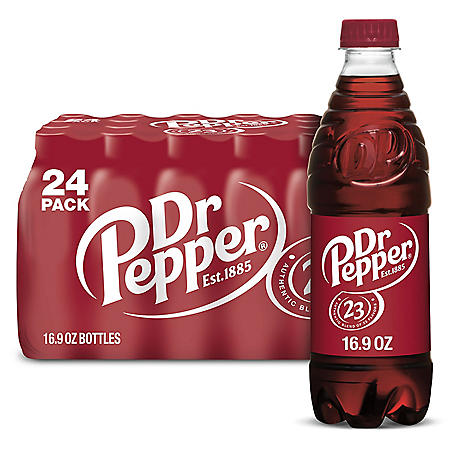 DR PEPPER 24 / 16.9 OZ BOTTLES