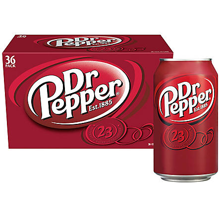 Dr Pepper (12oz / 36pk)