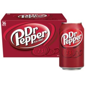 Dr Pepper (12 oz., 36 pk.)