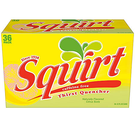 Squirt Citrus Soda (12oz / 36pk)