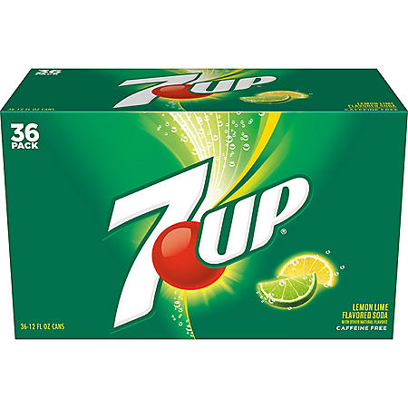 7UP (12 oz. cans, 36 pk.)