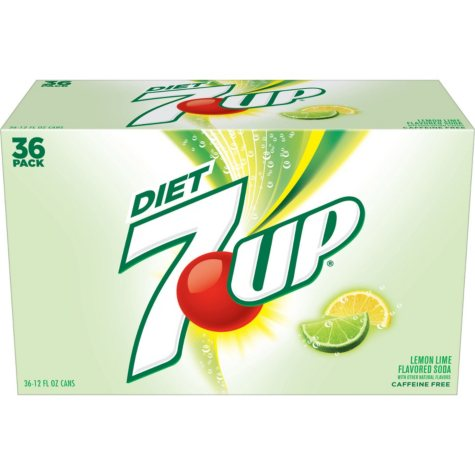 Diet 7UP (12 oz. cans, 36 pk.)