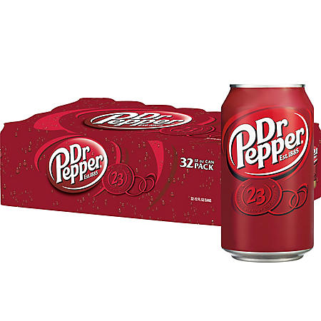 Dr Pepper (12 oz., 32 pk.)