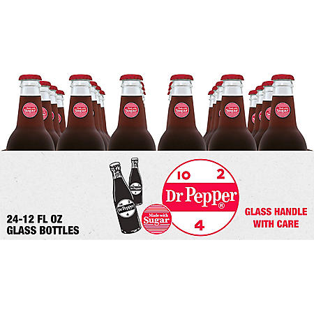 Dr Pepper Made with Real Sugar (12oz / 24pk)