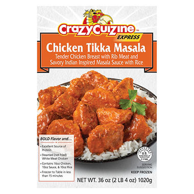 Crazy Cuizine Chicken Tikka Masala (36 oz.)