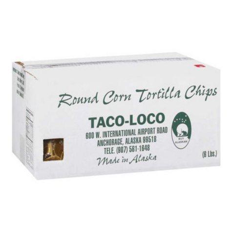 TORTILLA CHIPS 6 LB BOX