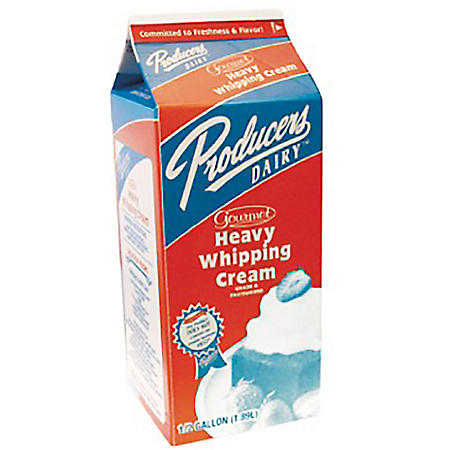 Producers Dairy Heavy Whipping Cream (1/2 gal.)