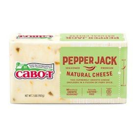 Cabot Pepper Jack Cheese Brick (2 lb ) - Sam's Club