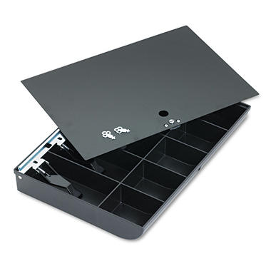 MMF Industries Cash Drawer Tray with Locking Cover