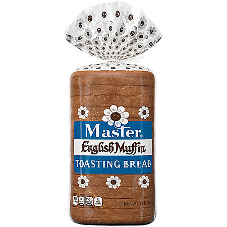 Master English Muffin Toasting Bread (16oz / 2pk)