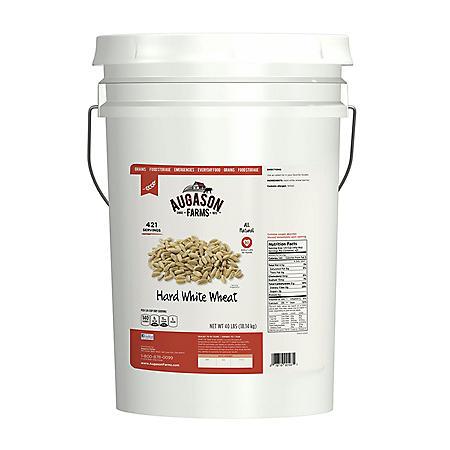 Augason Farms Hard Red Wheat Pail (40 lbs.)