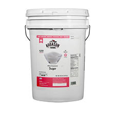 Augason Farms White Granulated Sugar (40 lb. pail)