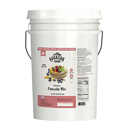 Augason Farms Buttermilk Pancake Mix (28 lb. pail)