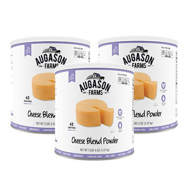 Augason Farms Cheese Blend Powder (52 oz., 3 pk.)