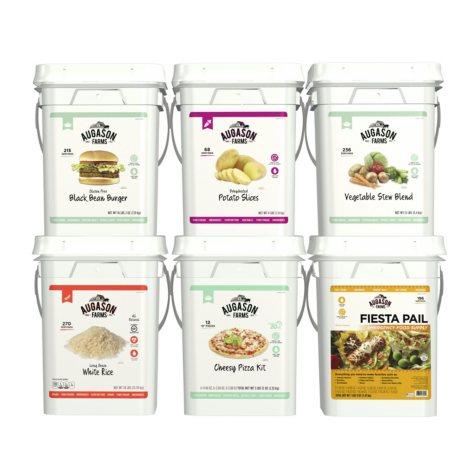 Augason Farms Dinner Basics Emergency Food Supply Pail Kit