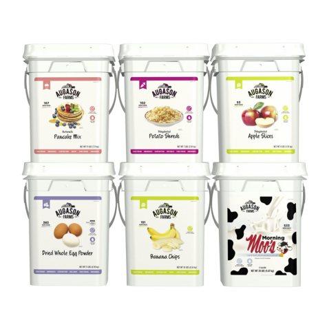Augason Farms Breakfast Basics Emergency Food Supply Pail Kit