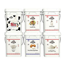 Augason Farms Baking Basics Emergency Food Supply Pail Kit