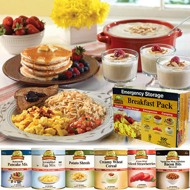 Augason Farms Food Storage Breakfast Pack