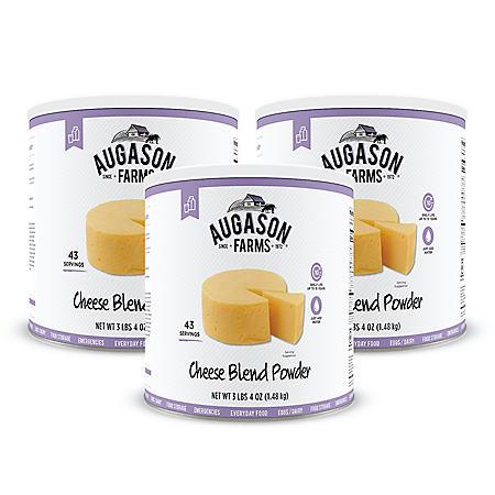 Augason Farms Cheese Blend Powder (52 oz., 3 pk.)