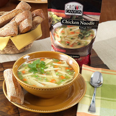 Crown Canyon™ Chicken Noodle Soup Mix Pouch - 6 pk.