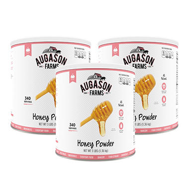 Augason Farms Honey Powder (48 oz., 3 pk.)