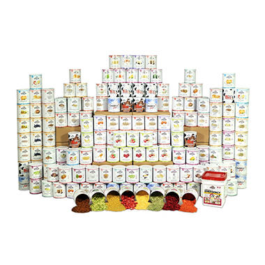 Augason Farms Premium Emergency Food Storage Kit (1 year, 4 people)