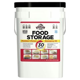 Augason Farms Emergency Food Supply Pail (1 person, 30 days)