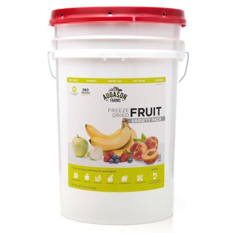 Augason Farms Freeze-Dried Fruit Variety Pail (4 lbs. 2 oz.)