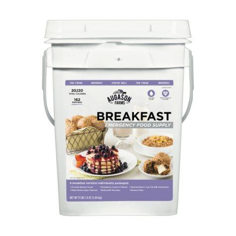 Augason Farms Breakfast Emergency Food Supply Pail