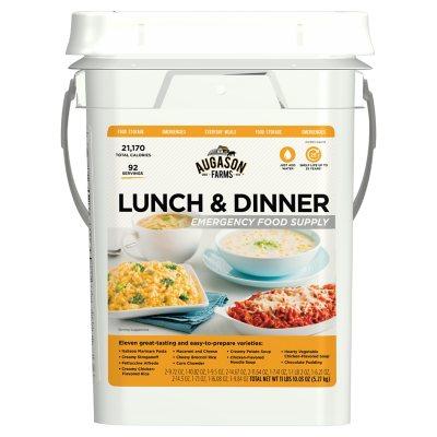 Augason Farms Lunch u0026 Dinner Emergency Food Supply Pail  sc 1 st  Samu0027s Club & Emergency Food Kits - Samu0027s Club