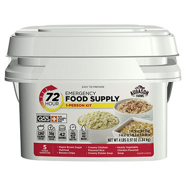 Shop Sam's Club for all your emergency stock-up needs, including food, food kits, food storage and more!