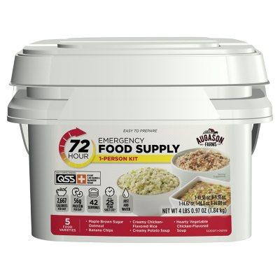 Augason Farms Emergency Food Supply Kit 72 hours 1 person Sams