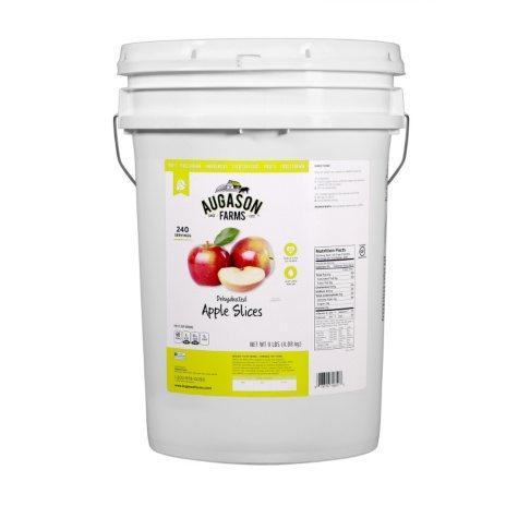 Augason Farms Dehydrated Apple Slices (9 lb. pail)
