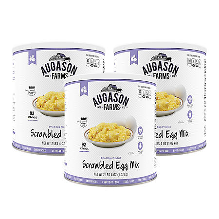 Augason Farms Scrambled Egg Mix (36 oz., 3 pk.)