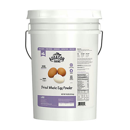 Augason Farms Dried Whole Eggs (18 lb. pail)