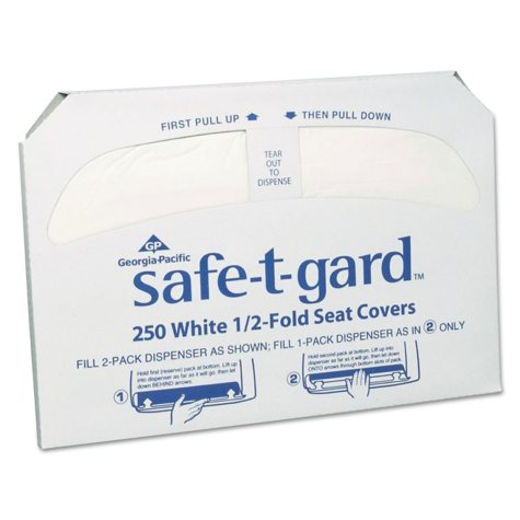 Georgia Pacific Safe-T-Gard Toilet Seat Covers (2,500 ct.)