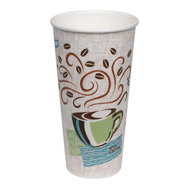 Offline for variant Dixie PerfecTouch Insulated Paper Cups, Coffee Haze, 20 oz. (100 ct.)
