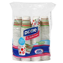 Dixie - Bath Cup, 3 oz. - 600 Cups