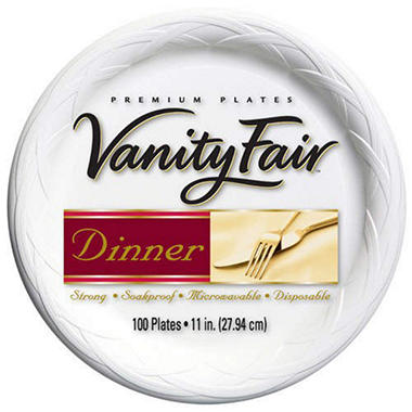Vanity Fair® 11inch Plates - 100ct  sc 1 st  Samu0027s Club : strong paper plates - pezcame.com
