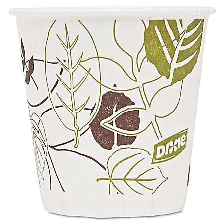 Dixie Pathways Paper Hot Cups, 3 oz, 2400 ct (45PATH)
